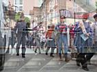 Großaufgebot der Polizei bei 1.000-Kreuze-Marsch