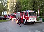 Feuerwehreinsatz wegen Balkongrillerei in Lehen