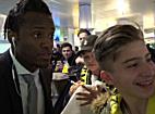 Dortmund-Stars in Salzburg gelandet