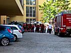 PKW prallt gegen Hausmauer einer Privatklinik! 3 Verletzte