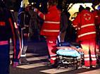 Herbert-von-Karajan-Platz: Zwei Verletzte bei Pkw-Unfall