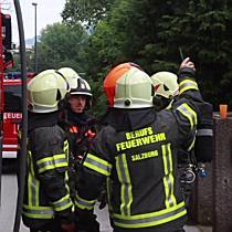 Küchenbrand in Lehen fordert einen Verletzten