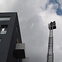 Überhitzte Solaranlage auf Hochhaus sorgt für Feuerwehreinsatz