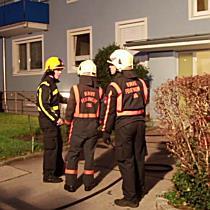Kellerbrand in der Karl-Adrian-Straße