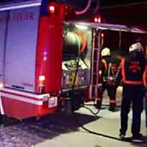 Kellerbrand in der Stadt Salzburg