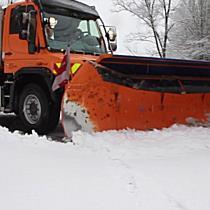 Starkschneefall im Flachgau und in der Stadt Salzburg