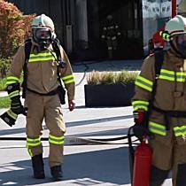 Kellerbrand in Palfinger-Firmengebäude