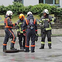 Vermeintlicher Gasaustritt an Tankstelle in Mozartstadt