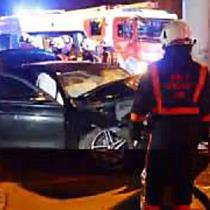 Schwerer Crash in der Siezenheimerstraße fordert fünf Verletzte