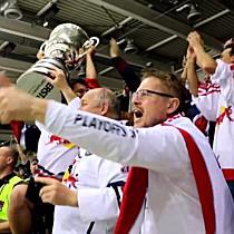 Red Bull Salzburg ist Eishockey-Meister 2014/15