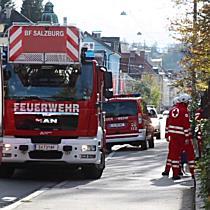 Zimmerbrand in Behindertenwohnhaus an der Haunspergstraße