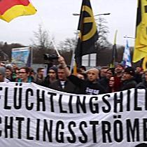 """3. Demo von """"Wir sind die Grenze"""" am Grenzübergang Freilassing"""