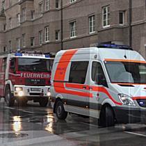 Elisabeth-Vorstadt: Küche fängt Feuer