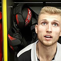 Einblick ins Salzburgs Eishockey-Umkleidekabine