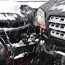 Verkehrsunfall in Mayrwies fordert zwei Verletzte