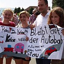 Viehhausen und Gois machen mobil gegen die Stauflüchtlinge