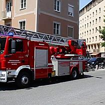 Zimmerbrand in der Bayerhamerstraße