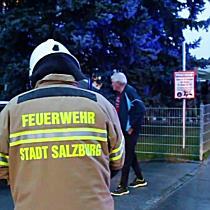 Mehrparteienhaus in Salzburg nach Wohnungsbrand Evakuiert
