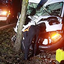 Schwerer Verkehrsunfall auf der Morzgerstraße fordert einen Verletzten