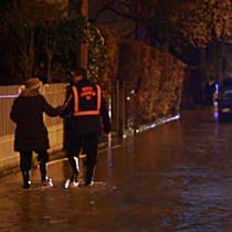 Wasserrohrbruch überflutet Bayernstraße