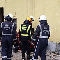Gasaustritt bei Abbrucharbeiten in Salzburg-Lehen
