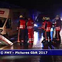 Schwerer Alk-Crash auf der A1 bei Salzburg fordert zwei Verletzte