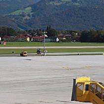 Übungsflüge des österreichischen Bundesheers über Salzburg
