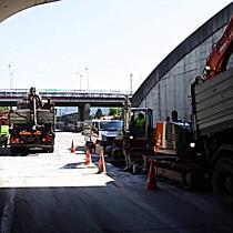 Sanierungsarbeiten im Lieferingertunnel 2 haben begonnen