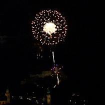 Alljährliche Feuerwerk zu Ruperti