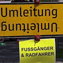 Arbeiten am neuen Kreisverkehr in Maxglan gestartet