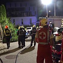 Kellerbrand in Wohnhaus in Parsch