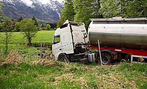 LKW-Unfall auf der A10 bei Grödig