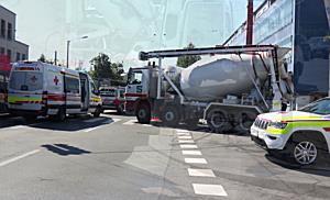 Radfahrerin stirbt nach Kollision mit Lkw in der Alpenstraße