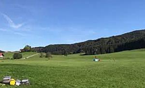 Waldbrandübung in Henndorf