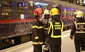 50 Verletzte bei Zugunfall am Salzburger Hauptbahnhof
