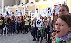 2018 11 06FMT BPKS Demo Salzburg