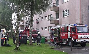 Zwei Verletzte bei Brand in der Stadt Salzburg