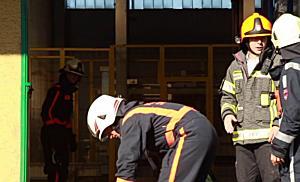 Silobrand in Salzburg Itzling fordert Feuerwehr