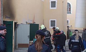 Brand im Müllner Bräu in Salzburg