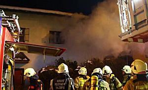 Wohnungsbrand in Einfamilienhaus an der Linzer-Bundesstraße