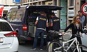 Raubüberfall auf Bank am Max-Ott-Platz in Salzburg
