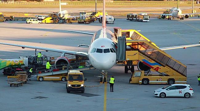 Hochbetrieb am Salzburger Flughafen