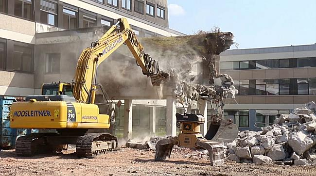 Sanierung der PH Salzburg in der Akademiestraße gestartet