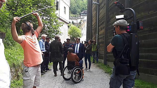"""""""Die Toten von Salzburg"""": Dreh in Bad Gastein"""