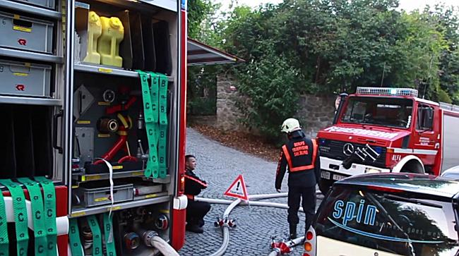 Hausbrand am Salzburger Nonnberg