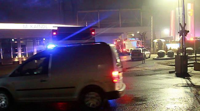 Explosion im Kaindlwerk fordert einen Schwerverletzten