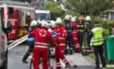 Unfall in der Auffenbergstraße