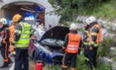 Unfall beim Lieferinger Tunnel